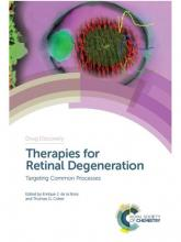 """Enrique de la Rosa """"Therapies for Retinal Degeneration: Targeting Common Processes""""."""