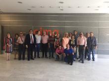 Farpe visitó el Centro de Investigación Médica Aplicada (CIMA)
