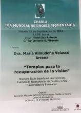 Día Mundial de la Retinosis Pigmentaria. Asociación Castilla  la Mancha